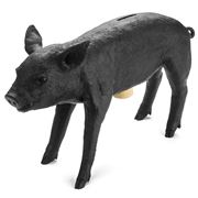 Areaware - Bank In The Form of a Matte Black Pig
