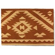 Raine & Humble - Aztec Copper Jute Rug
