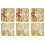 Seagull Studios - Flower Bloom Coaster Set 6pce