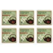 Seagull Studios - Organic Tea Coaster Set 6pce