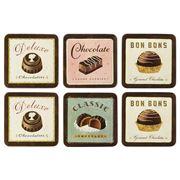 Seagull Studios - Chocolatier Coaster Set 6pce