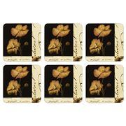 Seagull Studios - La Fleur de Paris Coaster Set 6pce