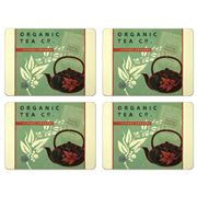 Seagull Studios - Organic Tea Large Placemat Set 4pce