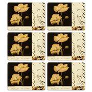 Seagull Studios - La Fleur de Paris Placemat Set 6pce