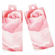 MyBagTag - Rose Luggage Tag Set 2pce