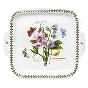 Portmeirion - Botanic Garden Square Dessert Dish w/Handles
