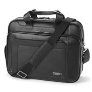 Samsonite - Business Savio III Leather Laptop Briefcase