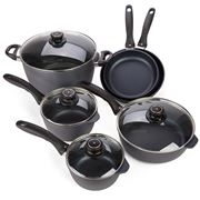 Swiss Diamond - Cookware Set 10pce