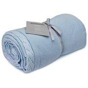 Sheridan - Baby Elliott Chambray Cot Blanket