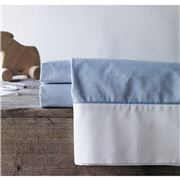 Sheridan - Baby Perry Chambray Fitted Cot Sheet