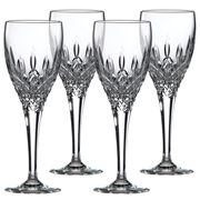 Royal Doulton - Crystal Highclere Sherry Set 4pce