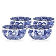 Spode - Blue Italian Dip Bowl Set 4pce