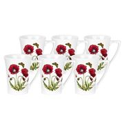 Portmeirion - Botanic Garden Poppies Mug Set 6pce