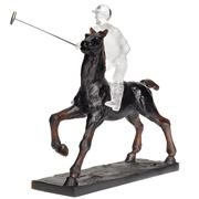 Daum - Polo Player Black 25cm