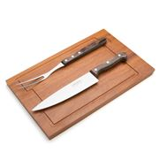 Tramontina - Churrasco Barbecue Set with Chopping Board 3pce