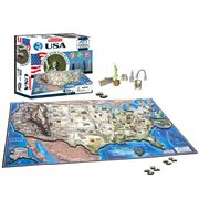 Games - 4D Cityscape USA Jigsaw Puzzle 950pce