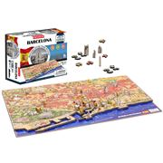 Games - 4D Cityscape Barcelona Jigsaw Puzzle 1100pce