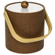 Mr Ice Bucket - Wicker Beechwood Ice Bucket