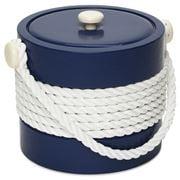 Mr Ice Bucket - Navy Ice Bucket with Rope Centre