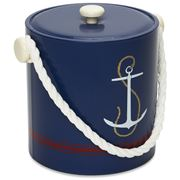 Mr Ice Bucket - Navy Anchor Ice Bucket