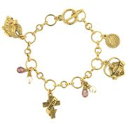 Vatican Library Collection - Faith, Love & Peace Bracelet