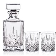 Nachtmann - Noblesse Whisky Decanter & Tumbler Set 3pce