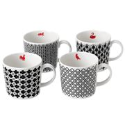Royal Doulton - Charlene Mullen Mixed Accent 4pce Mug Set
