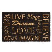 Kenware - Lifestyle Dream Doormat 45x75cm