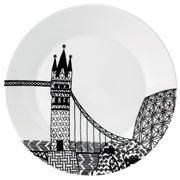 Royal Doulton - Charlene Mullen London Calling Bridge Plate