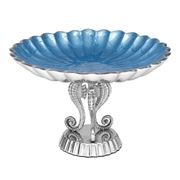 Julia Knight - By the Sea Azure Small Pedestal Bowl
