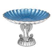 Julia Knight - By the Sea Azure Small Pedestal Bowl