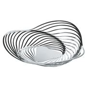 Alessi - Trinity Fruit Bowl Large Silver