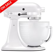 KitchenAid - Platinum KSM156 Frosted Pearl Stand Mixer