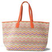 Makaron - Zigzag Rainbow Tote Bag