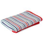 D Lux - Rainbow Knit Denim Bassinet Blanket