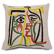 Jules Pansu - Head Of A Woman Cushion