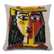 Jules Pansu - Woman With A Hat Cushion