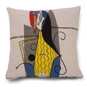 Jules Pansu - Femme Dans Fauteuil Cushion