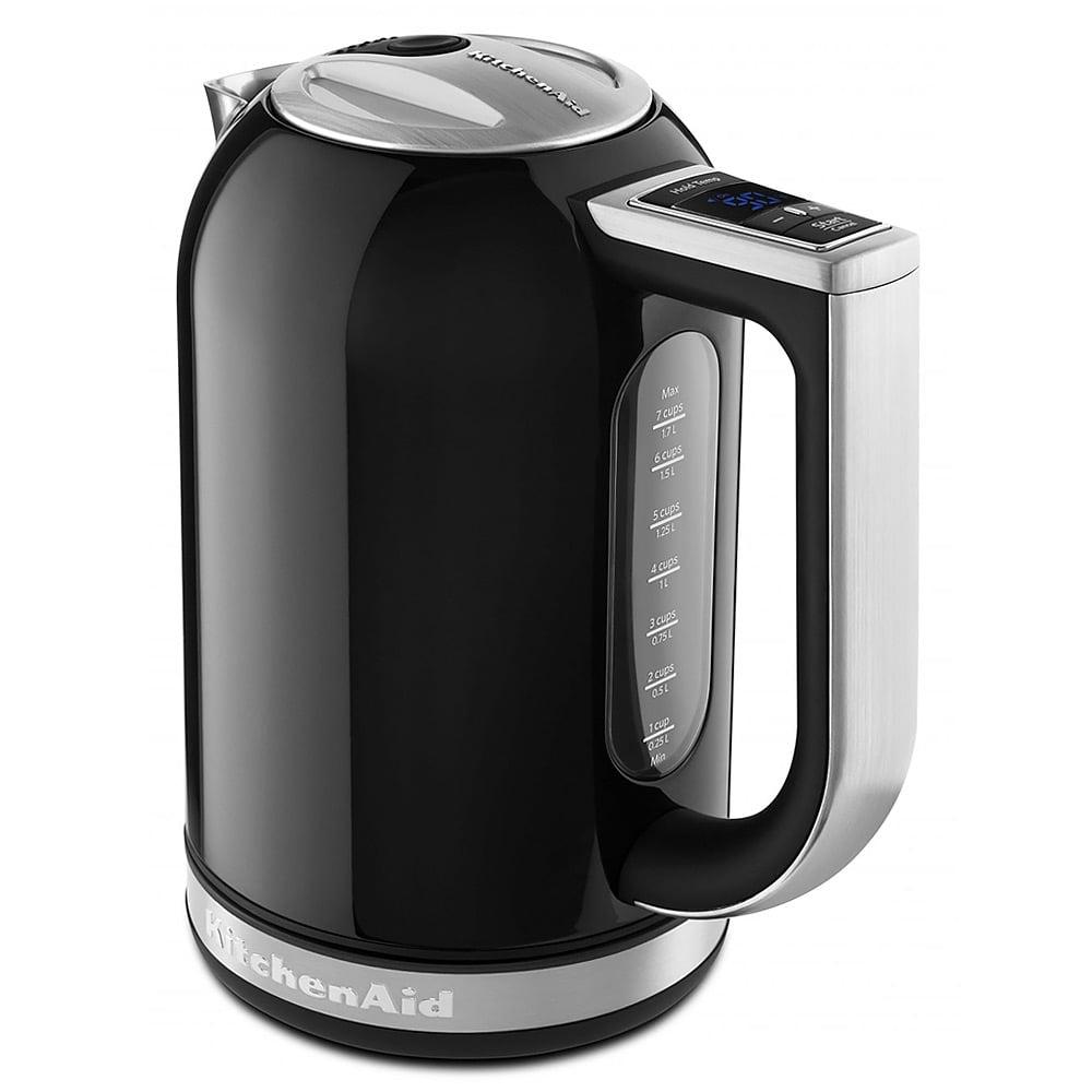 Black Kitchenaid Kettle: KitchenAid - KEK1722 Onyx Black Electric Kettle