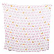 The Little Linen Company - Hop Pink Swaddling Wrap