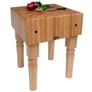 Boos - Solid Maple Butcher Block Table