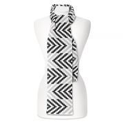 Otto & Spike - In & Out Black and White Scarf