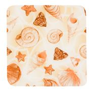 Andreas - Ocean Shells Square Silicone Trivet