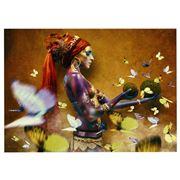 PopArt - Butterfly 150x100cm