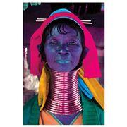 PopArt - Kayan Woman 2 100x150cm