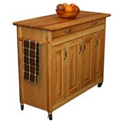 Catskill - Butcher Block Island w/ Drop Leaf