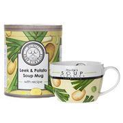 Mackie's Soup Classics - Leek & Potato Soup Mug