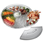 Serroni - Fresco Rotating Serving Platter On Ice