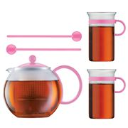 Bodum - 70 Years Assam Tea Press Set Pink