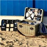 Satara - Amalfi Wicker Picnic Basket Set for Two